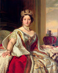 Queen Victoria Fine Art Print by English Photographer