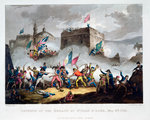 Defence of the breach at St Jean d'Acre Fine Art Print by Sir David Wilkie