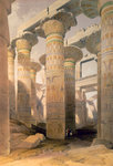 Hall of Columns Wall Art & Canvas Prints by William James Muller