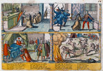 The assassination of Henry III of France Fine Art Print by French School