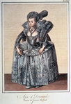 Anne of Denmark Fine Art Print by Sir Anthony van Dyck
