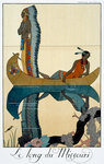 The Length of the Missouri Fine Art Print by Jacques Grasset de Saint-Sauveur