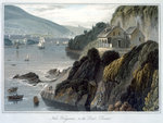 Near Kingswear Fine Art Print by Joseph Mallord William Turner