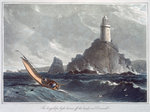 The Longships Lighthouse off the Lands End Fine Art Print by Alexander Nasmyth