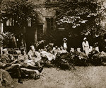 Injured soldiers recuperating at an American hospital in Paris Wall Art & Canvas Prints by French School