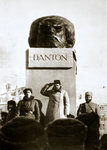 Lenin unveiling the Danton monument Fine Art Print by Adrien Barrere