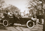 US President Warren G Harding returning from his inauguration Fine Art Print by American Photographer