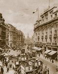 Upper part of Regent's Street Fine Art Print by English Photographer