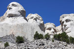 Mount Rushmore National Memorial, South Dakota, USA. Wall Art & Canvas Prints by Thomas Uwins