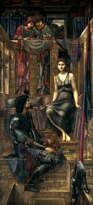 King Cophetua and the Beggar Maid, 1884 Fine Art Print by Sir Edward Coley Burne-Jones