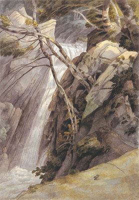 Waterfall near Ambleside, 1786 Fine Art Print by Francis Towne