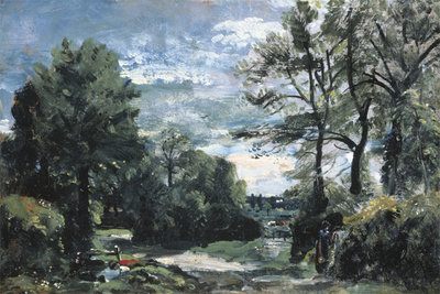 A Lane Near Flatford, c.1810 Fine Art Print by John Constable
