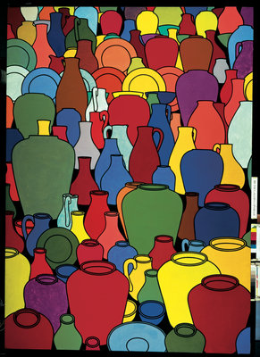Pottery, 1969 Fine Art Print by Patrick Caulfield