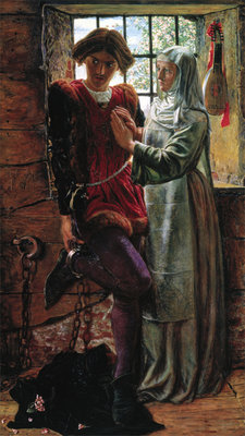 Claudio & Isabella, 1850 Fine Art Print by William Holman Hunt