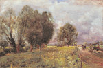 In the Country of Constable, 1903 Poster Art Print by John Constable