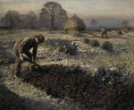 A Frosty March Morning, 1904 Fine Art Print by Sir George Clausen