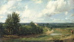 Hampstead Heath...c.1819 Fine Art Print by John Constable