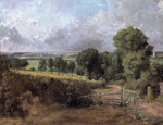 Fenn Lane, East Bergholt, 1817 Poster Art Print by John Constable