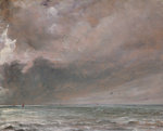 The Sea near Brighton, 1826 Fine Art Print by John Constable