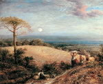 Harvest Moon, 1858 Fine Art Print by Sir George Clausen