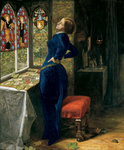 Mariana, 1851 Fine Art Print by William Holman Hunt