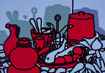 Glazed Earthenware, 1976 Fine Art Print by Patrick Caulfield