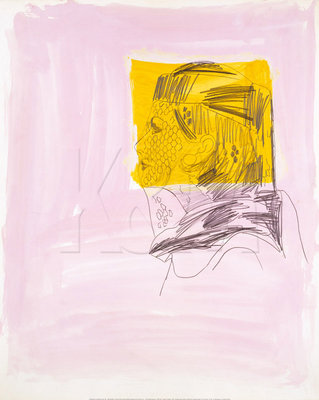 Profile of a Woman, 1962 Fine Art Print by Andy Warhol