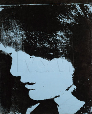 Jackie- Inauguration (Profile Facing Right), 1964 Fine Art Print by Andy Warhol