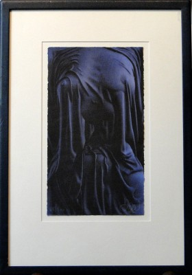 Blue Drape by Willi Kissmer - art