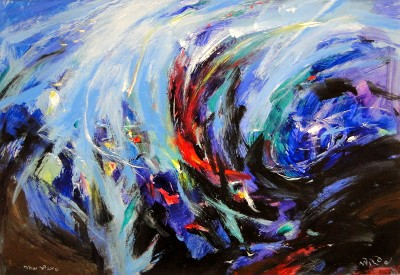 The Wave by David Wilde - art