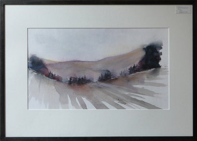 Over The Hills And Far Away by Louisa Boyd - art