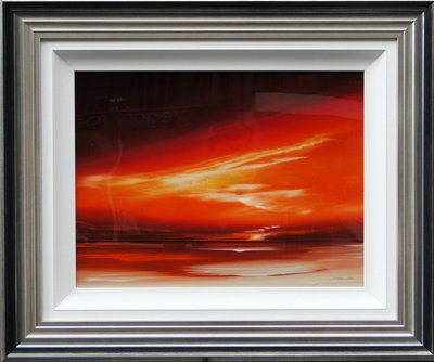 Orange Sky by Jonathan Shaw - art