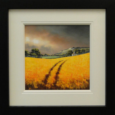 Golden Pathway by Allan Morgan - art