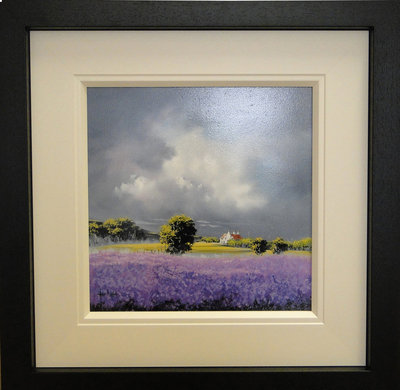 Lavender Blue Dilly Dilly by Allan Morgan - art