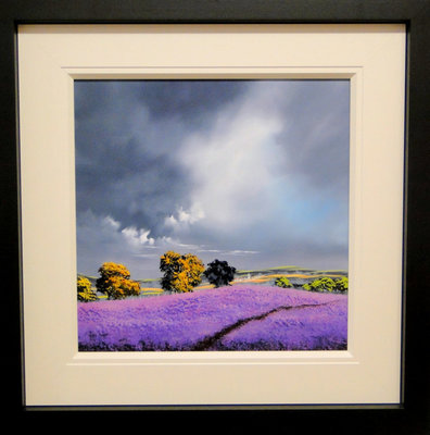 Can You Smell The Lavender by Allan Morgan - art