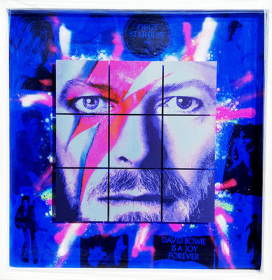 David Bowie: Electric Blue by Dan Pearce - art