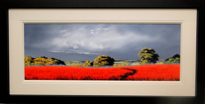 Cinnamon Fields I by Allan Morgan - art