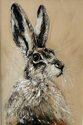 All Ears (Framed) by Sarah Spofforth-McOuat - art