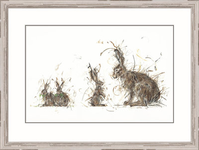 You'll Grow Into Them (*Please call the gallery for delivery price) by Aaminah Snowdon - art