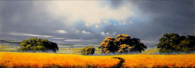 It's A Beautiful Morning (*SOLD) by Allan Morgan - art