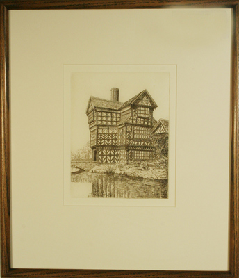 Old Morton Hall by Maude Robinson - art