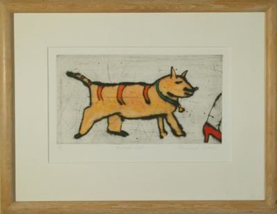 Proud Cat by Richard Spare - art