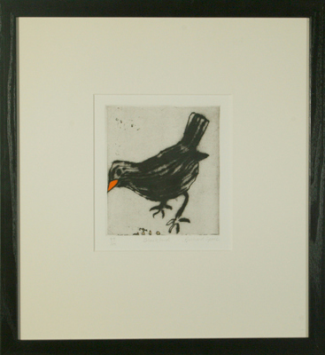 Blackbird by Richard Spare - art