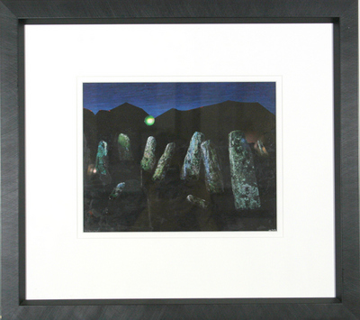 Stone Circle by David Wilde - art