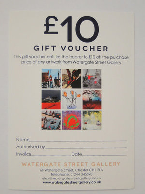 £10 Gift Voucher by Gift Voucher - art