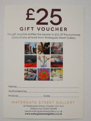 £25 Gift Voucher by Gift Voucher - art