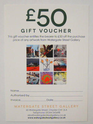 £50 Gift Voucher by Gift Voucher - art