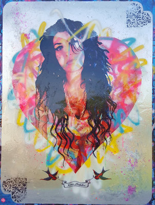Love Amy (Framed) by Dan Pearce - art