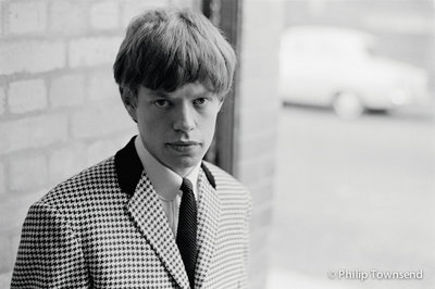 Rolling Stones, Mick in check (large) by Philip Townsend - art