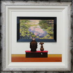 Fraud Monet - Frog On The Nog by Chris Chapman - art
